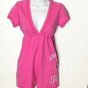 PINK Victoria Secret French Terry Dress
